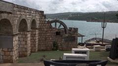 Falmouth Jamaica Caribbean Columbus Park 4K Stock Footage