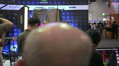 Photo Fair 2015 Between 25-29 November 2015 at BITEC Stock Footage