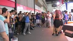 Photo Fair 2015 at BITEC in Bangkok, Thailand Stock Footage