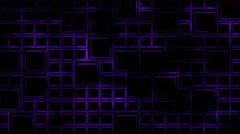 Abstract Tiled Background and Light Animation - Loop Violet Stock Footage
