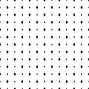 Seamless Modern Pattern With Dots - stock illustration