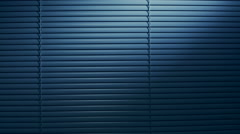 Venetian Blinds by Night Stock Footage