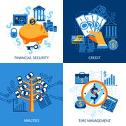 Stock Illustration of Finance Design Concept