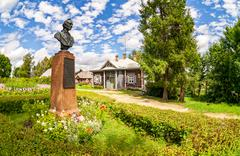 Museum homestead Suvorov in Konchanskoe-Suvorovskoe - stock photo