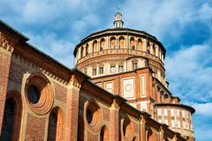 Church of Holy Mary of Grace - stock photo