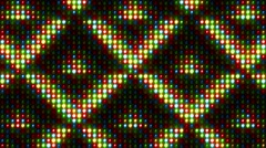 Led Lights Colorful Stage Background 14 Stock Footage