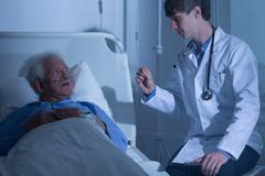 Hospice care ward Kuvituskuvat