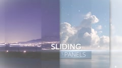 Sliding Panels - After Effects Template - stock after effects
