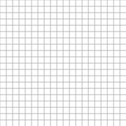 Five millimeters square grid on white seamless pattern Stock Illustration