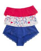 Three panties nobody Stock Photos