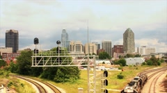 Raleigh North Carolina Timelapse Stock Footage
