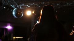 Beautiful dance in slow motion Stock Footage