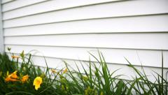 House Siding Rise Stock Footage