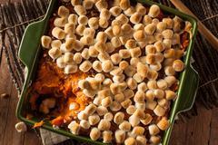 Homemade Sweet Potato Casserole - stock photo