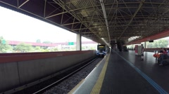 Carrao Station at sao paulo city Stock Footage