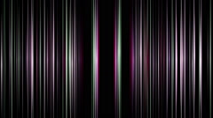 Fantastic video animation with stripe object in motion, loop HD 1080p Stock Footage