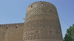 Shiraz Citadel Vakil Fortress Stock Footage