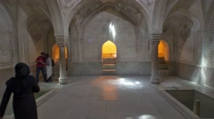 Shiraz Citadel room Stock Footage