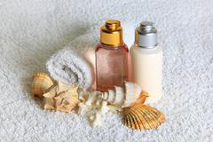 Bodycare products Stock Photos