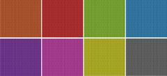 Bamboo texture in different colors - stock illustration