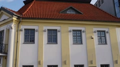 Old city in Bialystok, northeastern Poland Stock Footage