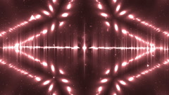Vj Background Red Motion With Fractal Design. Stock Footage