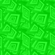 Green seamless rectangle pattern background - stock illustration