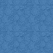 Azure seamless asymmetric star pattern background - stock illustration