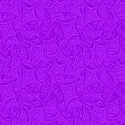Violet seamless asymmetric star pattern background - stock illustration