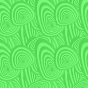Green seamless oval pattern background - stock illustration