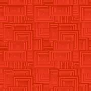 Red seamless rectangle pattern background - stock illustration