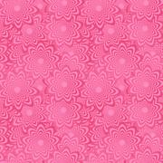 Pink seamless curved shape pattern background - stock illustration