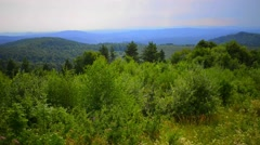 Carpathian Mountains in Poland Stock Footage