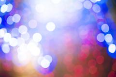 defocus christmas lights background - stock photo