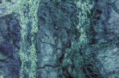 Green Light Blue Marble Granite Stone slab surface Stock Photos