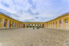 Grand Trianon in Versailles Palace near Paris, France Stock Photos
