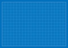 Blank Blueprint, Grid, Architecture - stock illustration