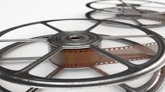 Stock Illustration of old movie reel