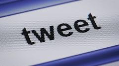 Tweet Stock Footage