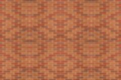 Wall from bricks in bokeh( lens blurred) Stock Photos