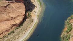 Deep Canyon tilt Up Stock Footage