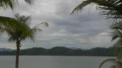 Time Lapse Taken At Malohom Bay Pulau Gaya in Malaysia Stock Footage
