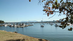 Newcastle Island Docks, Nanaimo, BC Stock Footage