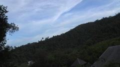 Evening Time Lapse at Kota Kinabalu, Malaysia Stock Footage