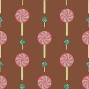 Vector christmas seamless patterns for xmas cards and gift wrapping paper Stock Illustration