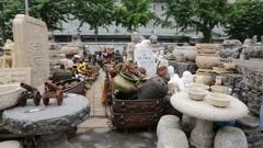 Stock Video Footage of Panjiayuan Flea Market - best antiques market in China, Beijing