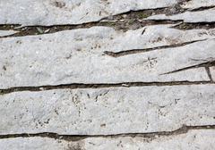 Close up gray rock cracked Stock Photos