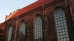 Saint Joseph church in Gdansk, Poland Stock Footage