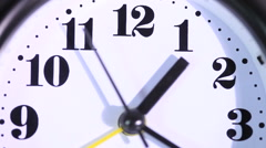 Clock alarm Stock Footage
