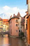 Medieval Annecy Stock Photos